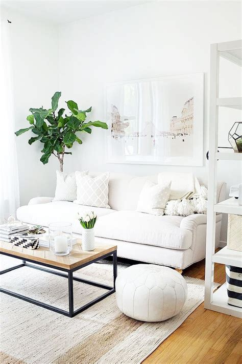 white couch decor 9 starter pieces everyone needs to build a dream home