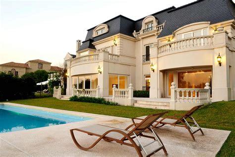 classic parisian style mansion  argentina idesignarch