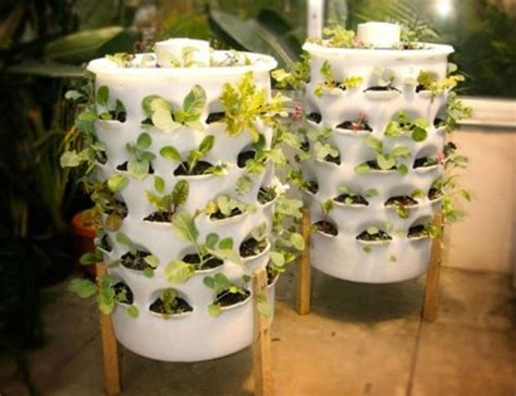 Vertical Garden Tower 25 Small Garden Ideas To Grow In A Limited Space