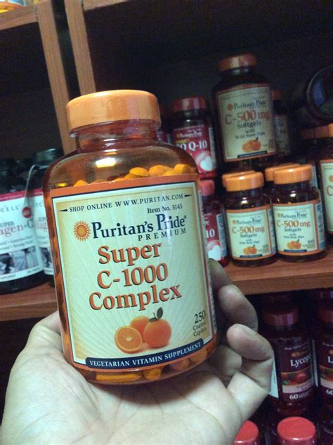 Promo Puritan S Pride Vitamin C 1000 Mg With Bioflavonoids And c 1000 complex 1000 mg 250 coated caplets puritan s pride vitamin puritan