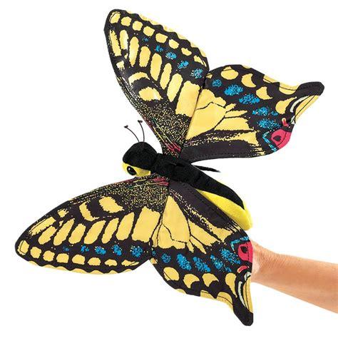 caterpillar butterfly sock puppet swallowtail butterfly puppet folkmanis