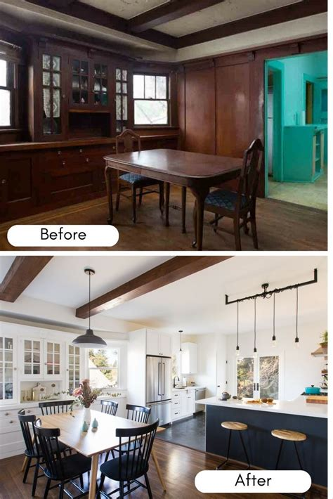 home design before and after this 1900s craftsman house got an before and after makeover with the help of an