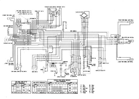 honda xr100 wiring diagram honda wiring diagrams images