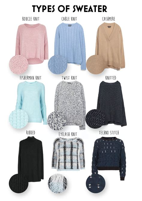 Sweater Pattern Types | different types of knit sweaters long sweater jacket
