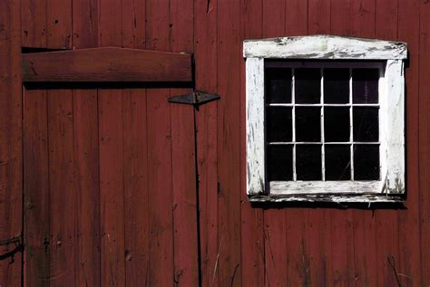 Red Barn Door Images Rustic Red Barn Door Stock Image Barn Door Window