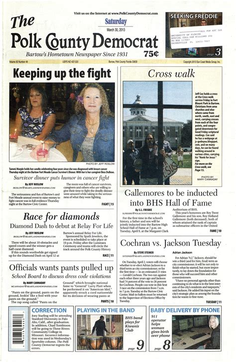 Bartow County Probation Office by The Polk County Democrat Page 1
