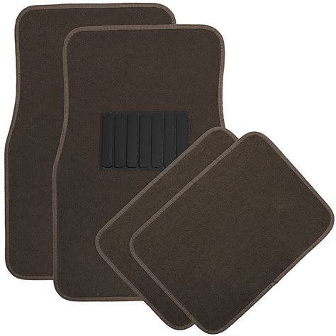 auto floor mats for bmw car suv 4pc heavy duty set semi custom fit brown carpet ebay