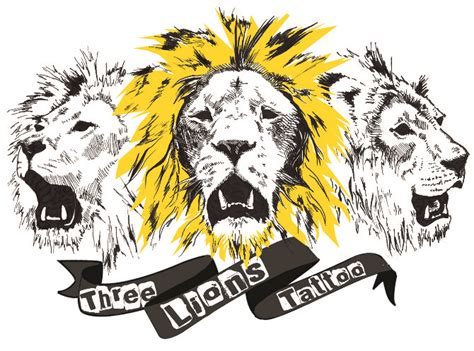 england three lions tattoo designs three lions joanna lord design