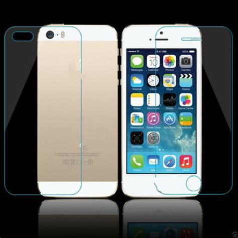 front and back tempered glass screen protector for iphone 6s plus 6plus 5s 4s ca ebay