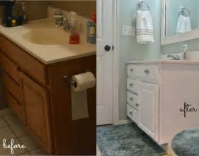 Before And After Bathroom Cabinets The Creepy Bathroom Remodel U Create