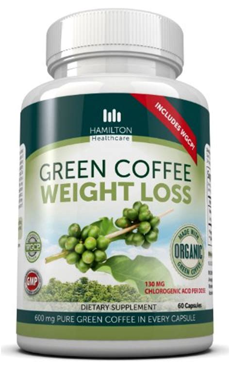 Green Coffee Bean Potent Organics 100 60 Caps best green coffee bean extract