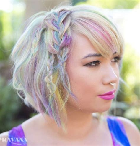 multi color hair dye 16 cool multi colored hair ideas how to get multi color