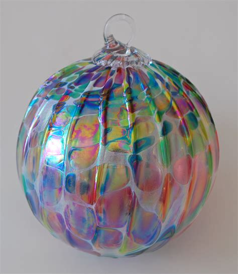 glass ornaments christmas lights