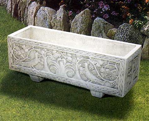 vasi in cemento da giardino 190 s cassetta pavoncella lonardi tutto per il giardino