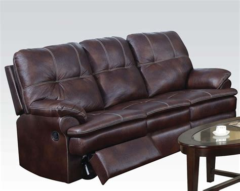 Microfiber Sofa Durability by Acme Furniture Microfiber Sofa Zamora Ac50750