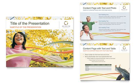 ppt templates for insurance health insurance company powerpoint presentation template