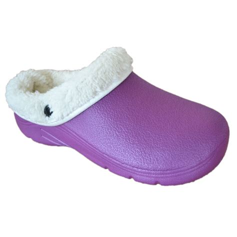 garden clogs for new briers thermal lined garden clogs unisex lilac uk size