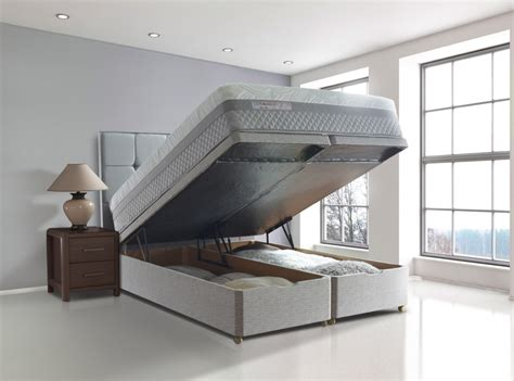Ottoman Beds With Mattress Storage Space Ottoman Beds Sealy Posturepedic