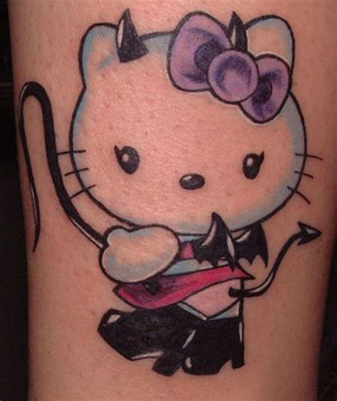 hello kitty tattoos tattoos of hello kitty