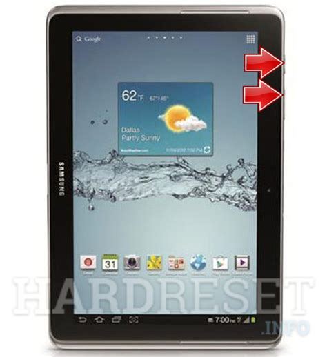 reset android samsung tablet hard reset samsung p5100 galaxy tab 2 10 1 dk hard reset