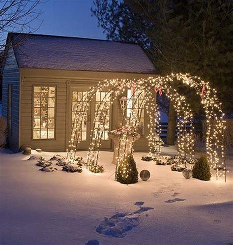 outdoor winter decorating ideas winter decor the best garden lights vintage industrial