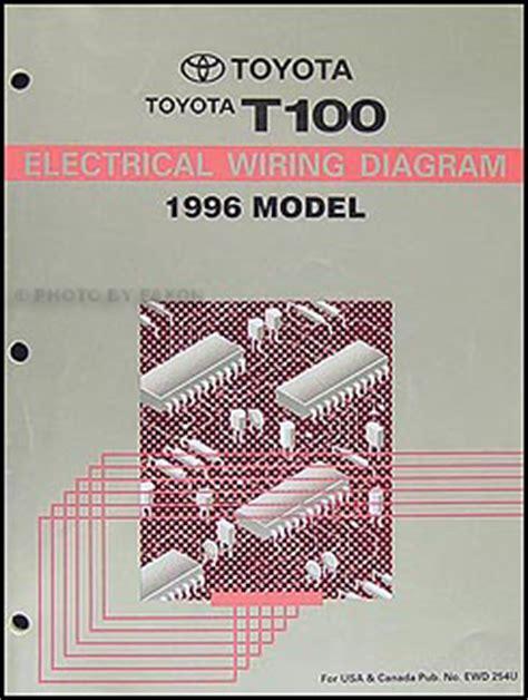 auto repair manual free download 1995 toyota t100 xtra regenerative braking 1996 toyota t100 truck wiring diagram manual original