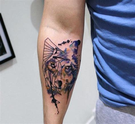 bad wolf tattoo 70 wolf designs for masculine idea inspiration