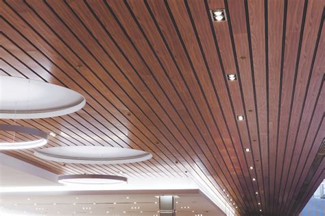 Linear Metal Ceiling Paraline 174 Linear Metal Ceiling System