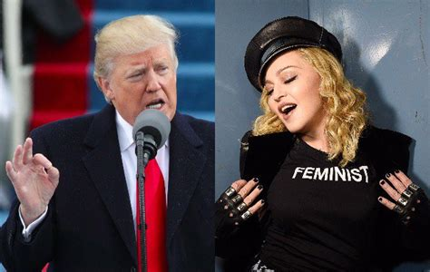 Donald Sends Disgusting Presents by Donald Calls Madonna Disgusting Following