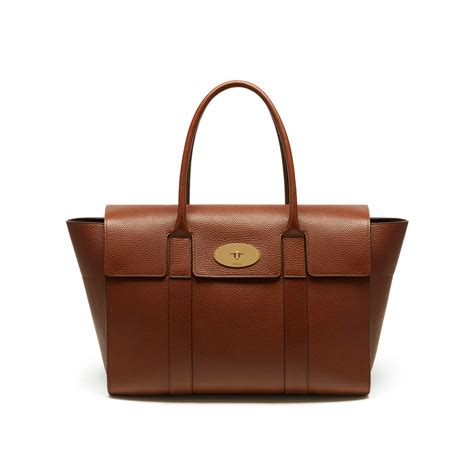 Tribute To A Timeless Classic Mulberrys Leather Bayswater Bag by Mulberry New Bayswater Leather Bag In Brown Oak Lyst