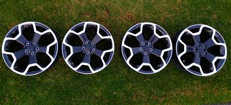 subaru factory wheels 2013 subaru crosstrek xv 17 quot oem factory rims wheels set