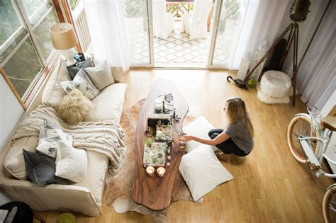 living in 1000 square feet my houzz chic boho style for a hawaii apartment beach