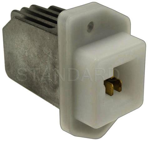 nissan sentra blower motor resistor hvac blower motor resistor standard ru 700 fits 07 12 nissan sentra 2 0l l4 ebay