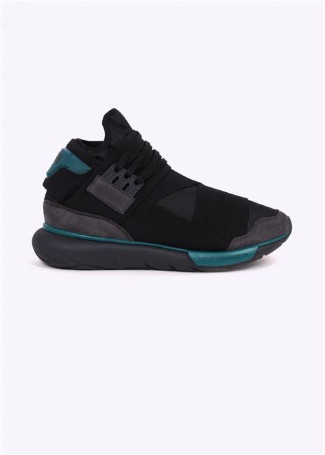 Adidas Y3 Yohji Yamamoto Qasa High y3 adidas yohji yamamoto qasa high charcoal black