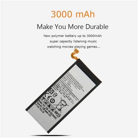 Baterai Samsung S6 Edge Ori 100 Batere Battery Packing 100 official genuine 3000 mah battery for samsung galaxy s6 edge plus with nfc ebay