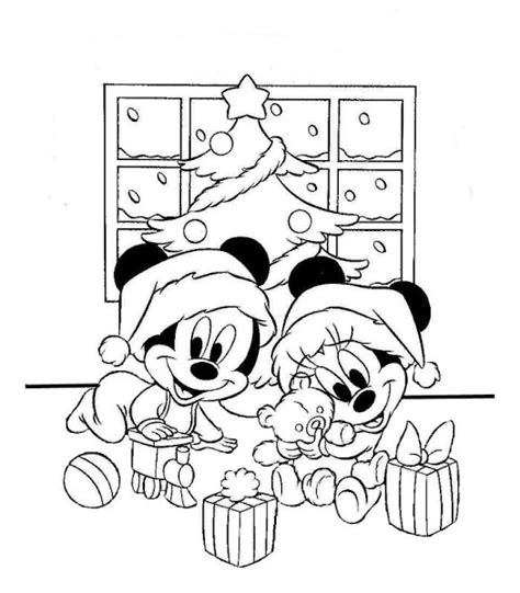 imagenes para colorear de mickey mouse en navidad im 225 genes con dibujos de mickey mouse de navidad para