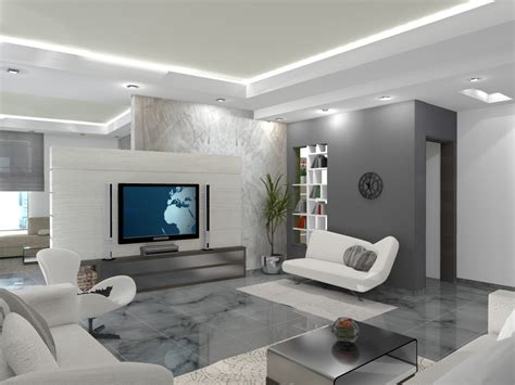 decoration maison salon moderne appartement luxueux
