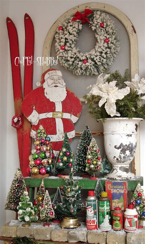 vintage christmas decorations chippy shabby chippy shabby vintage christmas