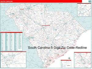 zip code map of carolina south carolina zip code map from onlyglobes