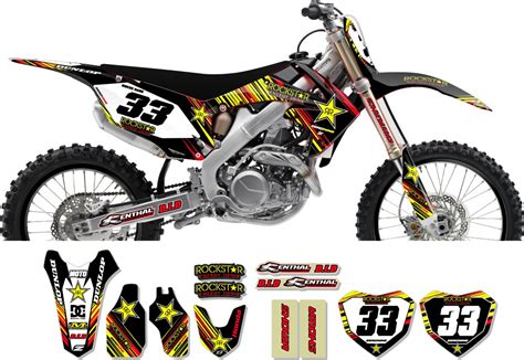 Decal Crf Kode 011 015 honda rockstar graphic kit gto