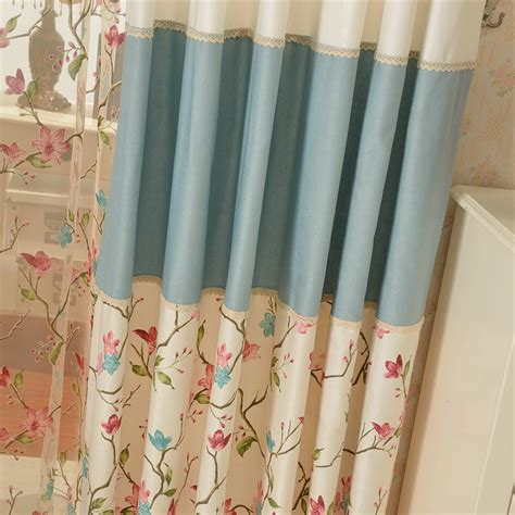 country curtains fabric floral patternpoly cotton fabric country curtain
