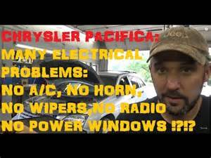 2006 Chrysler Pacifica Electrical Problems 2006 Chrysler Pacifica T Up 3 5 L V 6 Spark Plugs How