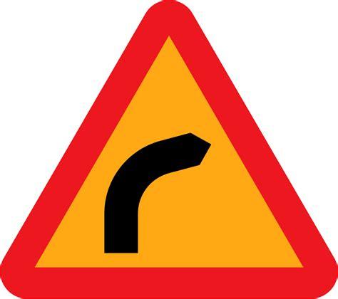 onlinelabels clip art dangerous bend bend