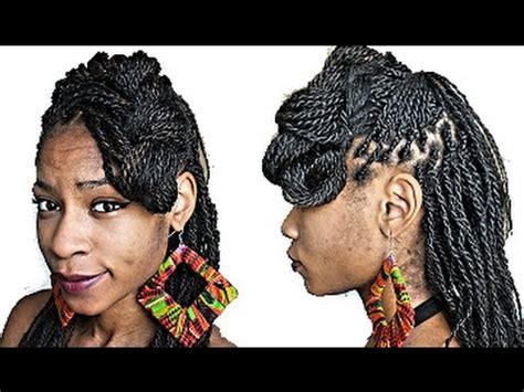 senegalese with bangs senegalese twists box braids hairstyles faux side bang