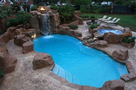 pool waterfall ideas pool waterfall ideas you can recreate in your backyard