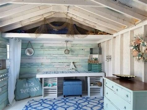nautical rustic  shed shed interior shed decor