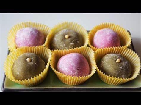 Squishy Roll Cake Pandan chapssaltteok korean style mochi