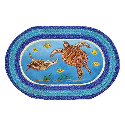 Patch Rug by Sea Turtle Oval Patch Rug