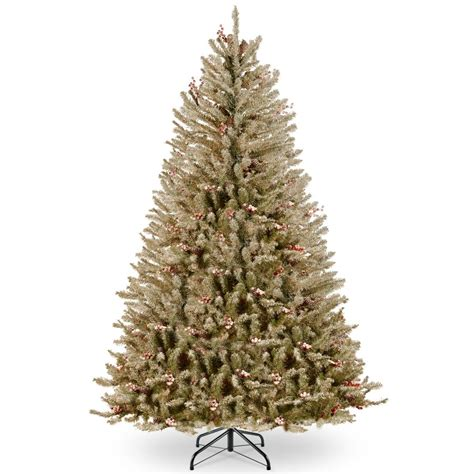 dunhill christmas tress home depot fir christimas trees national tree company 6 5 ft dunhill fir tree with clear lights duf 300 65 the home depot