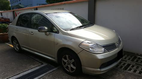 Nissan Latio nissan latio blue concierge